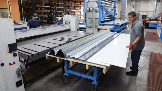 Different Forms Sheet Metal Fabrication
